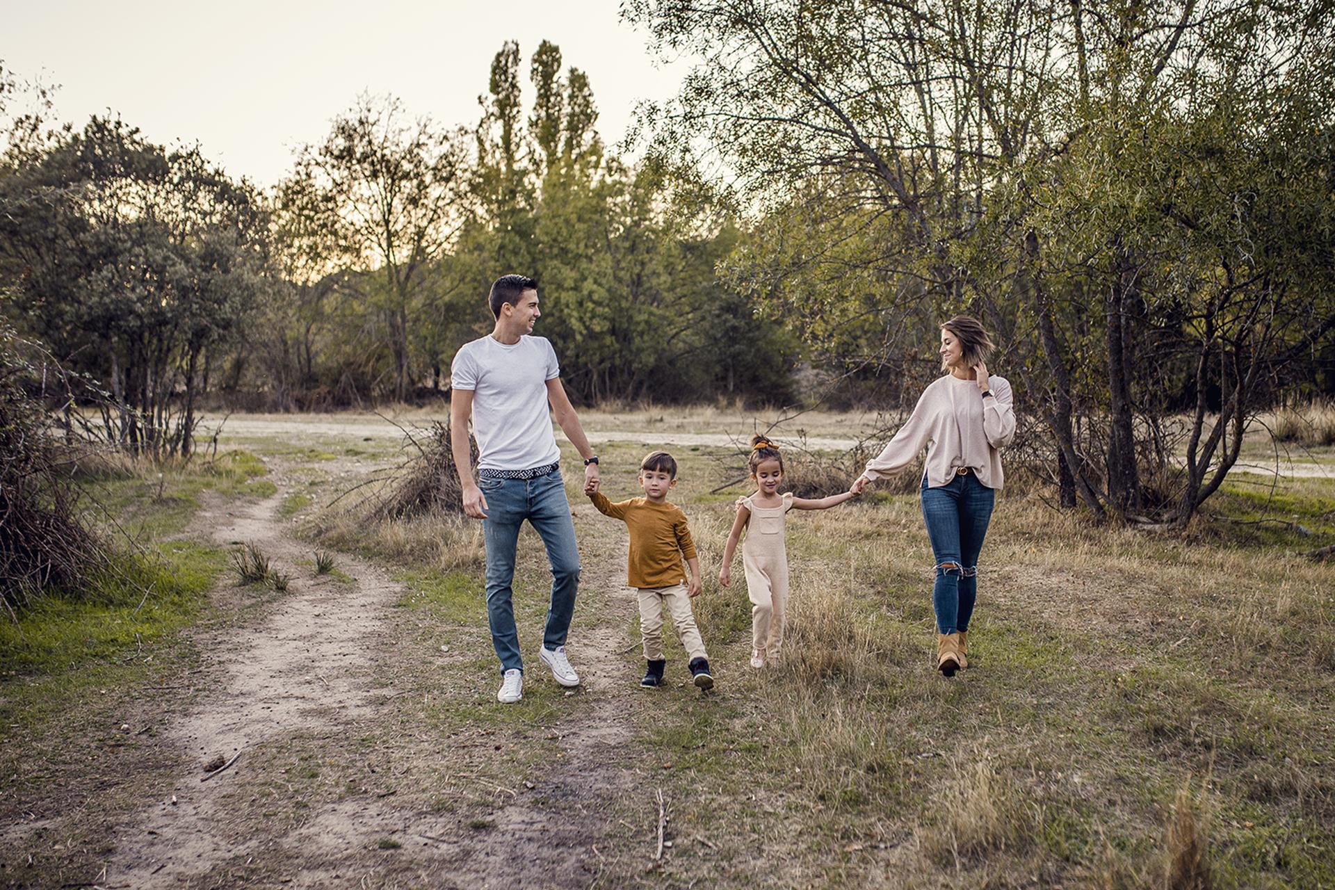 sesión familia exterior