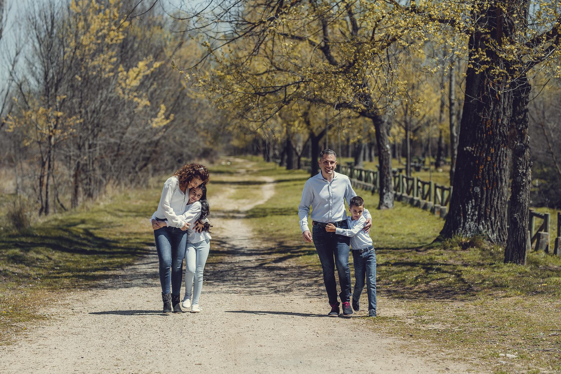 sesión fotos en el campo
