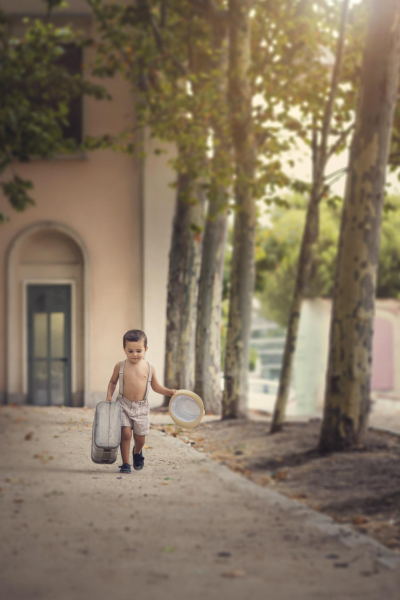 sesión infantil exterior